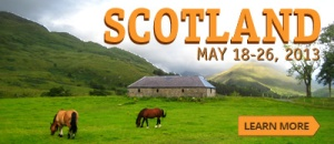 Check out EXP's upcoming Scotland Adventure.  Join them for what looks like an amazing trip!