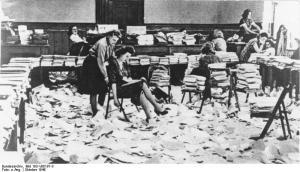 Nürnberg Prozess, Büro für Druckschriften-Herstellung