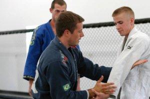 Beau teaching arm drag